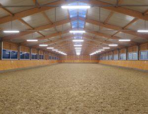 Reithalle Pferdehaltung Hallenbau